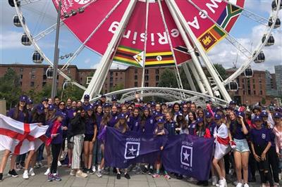 Ashtead All Stars went to the Netball World Cup in Liverpool en masse!